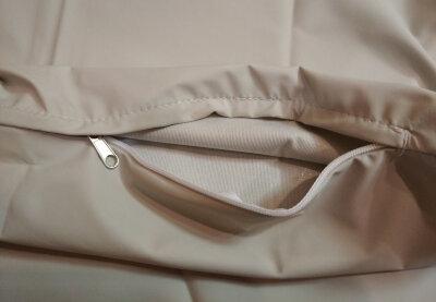 Непромокаемый чехол на матрас из медицинской ткани Далия, на молнии