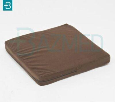Противопролежневая подушка-сидение с памятью формы, 40х40х10 см