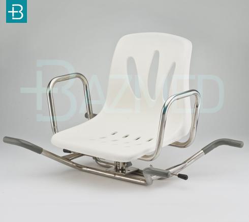 Сиденье для ванны со спинкой поворотное