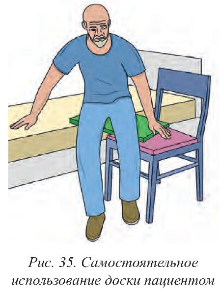 Доска для пересаживания маломобильных пациентов