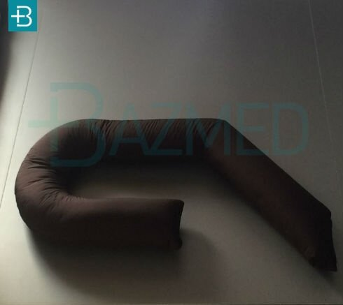 """Длинная подушка-обнимашка """"Гнездо"""""""