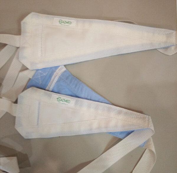 Фиксатор-ремень из х/б ткани (вязка) для ног